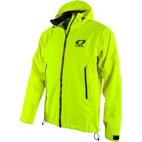 O'Neal Tsunami Chaqueta para lluvia Hombre, neon yellow